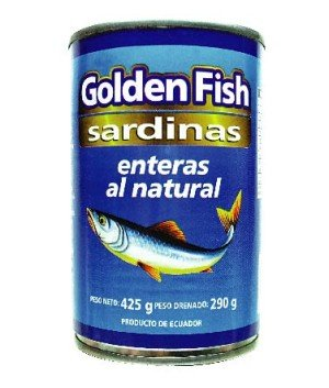 Sardina en Agua 425g Golden FIsh-01